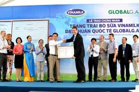 Trang trại Vinamilk được chứng nhận đạt chuẩn quốc tế