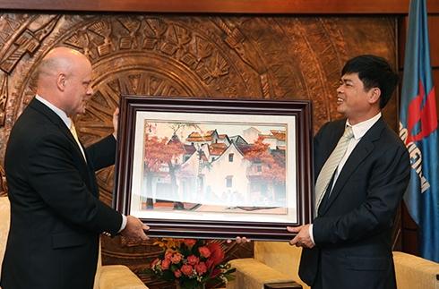 Chủ tịch, Tổng giám đốc Rosneft Việt Nam chào từ biệt Petrovietnam