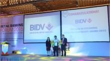 BIDV nhận giải thưởng Ngân hàng Điện tử Việt Nam tiêu biểu