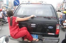 Hình ảnh chỉ có trên đường phố Việt Nam