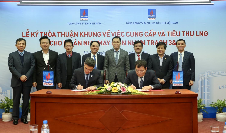 PVGAS và PVPower ký kết thỏa thuận khung về việc cung cấp và tiêu thụ LNG cho Nhà máy điện Nhơn Trạc