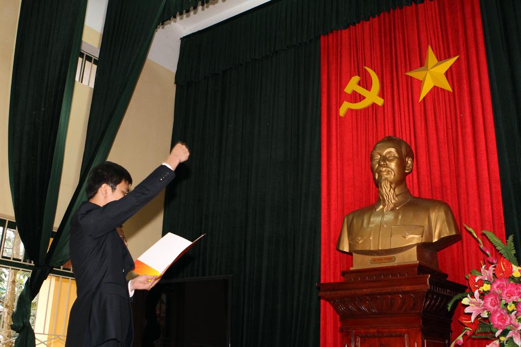PVEP tổ chức kết nạp Đảng viên mới tại Khu di tích K9 – Đá Chông