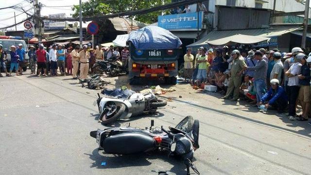 Mùng 1 Tết, cả nước xảy ra 21 vụ tai nạn giao thông