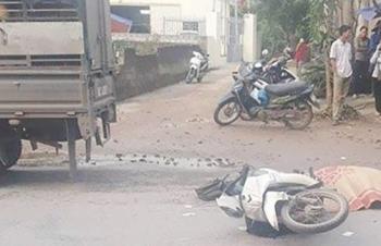 Một nhân viên bưu điện bị xe tải cán tử vong