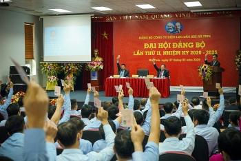 pv power ha tinh to chuc dai hoi dang bo lan thu ii nhiem ky 2020 2025