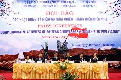 Kế hoạch kỷ niệm 60 năm Chiến thắng Điện Biên Phủ