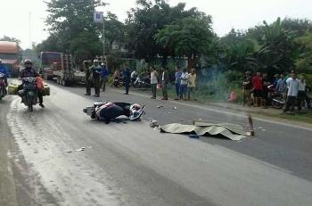 Nghệ An: Cô gái tử vong sau va chạm với xe tải
