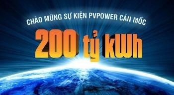 """""""Chúng ta sẽ không phải đợi 10 năm nữa mới cán mốc 400 tỷ kWh"""""""