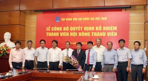PVN bổ nhiệm thành viên mới cho Hội đồng Thành viên