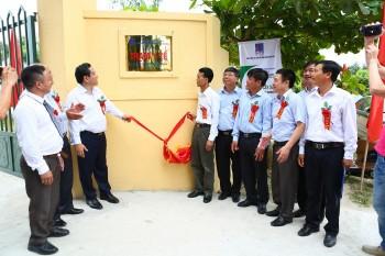 PVEP khánh thành trạm y tế xã Diễn Xuân