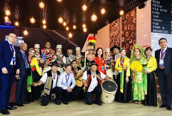 doan petrovietnam ghi dau an tot dep tai festival ngon duoc sochi 2019