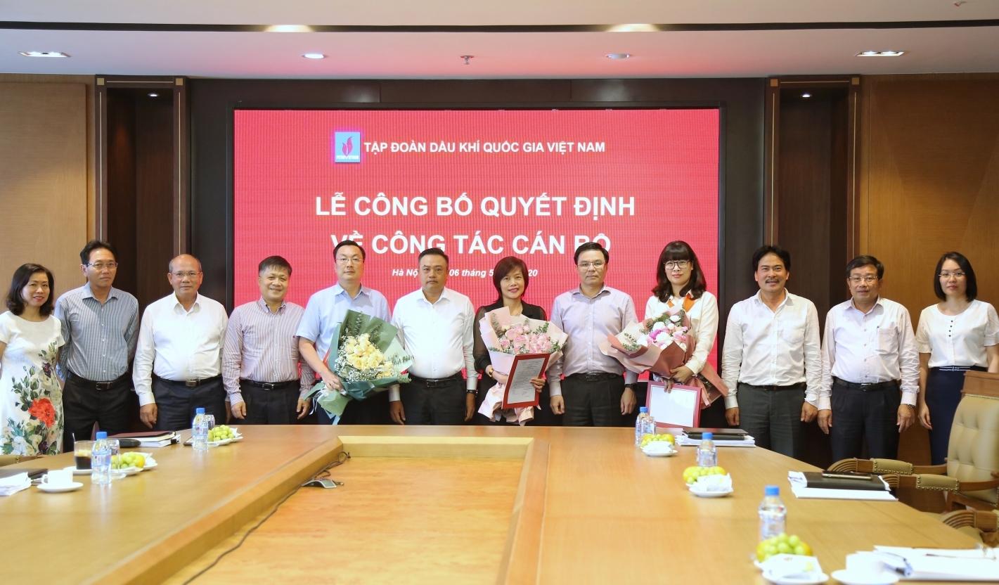 Bổ nhiệm lãnh đạo các Ban thuộc Cơ quan Tập đoàn Dầu khí Việt Nam