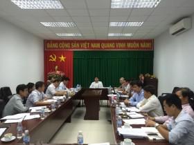 Lãnh đạo PVN giao ban kiểm tra dự án NMNĐ Sông Hậu 1
