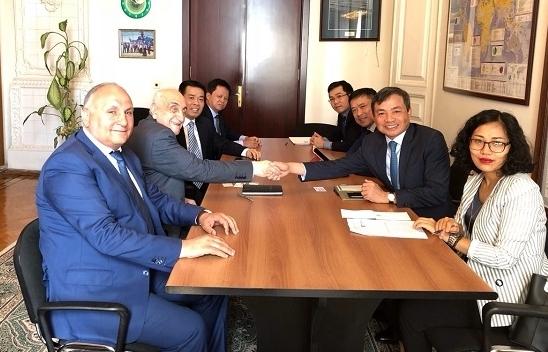 petrovietnam tham du khoa hop lan thu hai uy ban lien chinh phu viet nam azerbaijan
