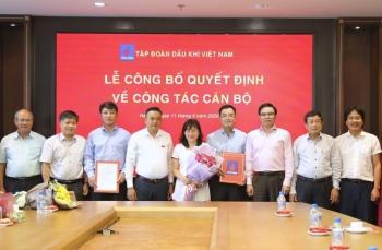 PVN trao quyết định bổ nhiệm Trưởng các Ban Kiểm soát nội bộ, Ban Tổng hợp và Ban TC&QTNNL