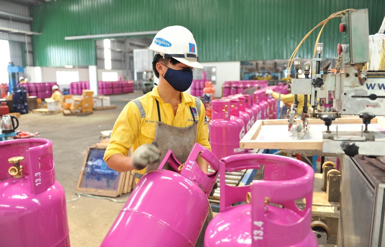 PVGas South quyết tâm phát triển công nghệ tiên tiến trong sản xuất bình gas
