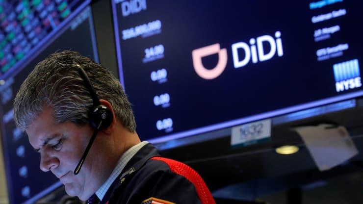 công ty gọi xe Trung Quốc Didi Global Inc trên sàn New York Stock Exchange (NYSE) ở