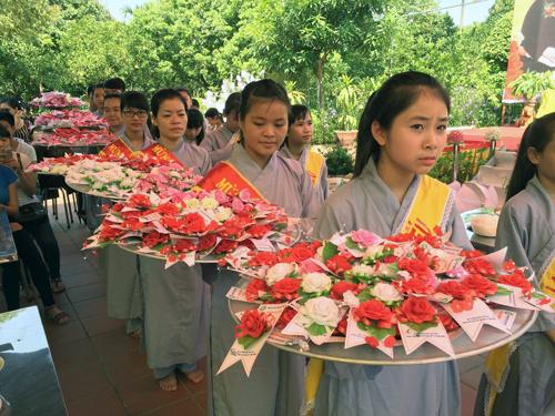 Đại lễ Vu Lan báo hiếu tại chùa Đình Quán