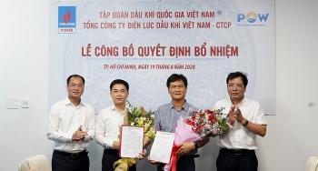 PV Power bổ nhiệm lãnh đạo Ban Quản lý Dự án Điện