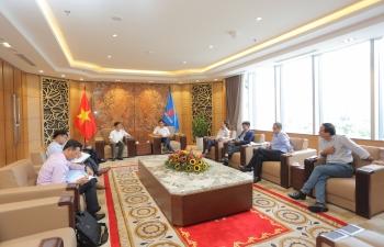 Tổng giám đốc PVN Lê Mạnh Hùng tiếp lãnh đạo tỉnh Quảng Trị