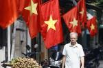 Phố cổ Hà Nội rợp sắc cờ đỏ mừng Quốc khánh