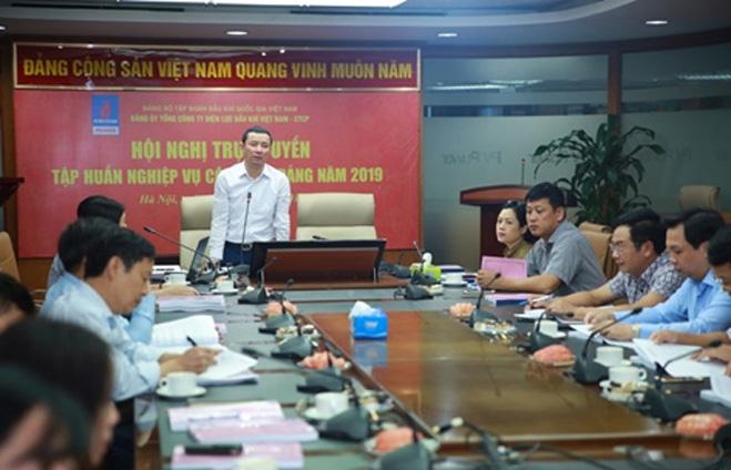 pv power to chuc hoi nghi tap huan cong tac dang nam 2019