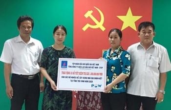 PV Power trao tặng 65 sổ tiết kiệm cho các hộ nghèo tại các tỉnh Vĩnh Long, Bạc Liêu, Trà Vinh, Hậu Giang