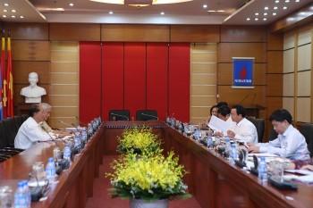 Thường trực Đảng ủy Tập đoàn làm việc với các tổ chức đoàn thể và Hội Dầu khí Việt Nam