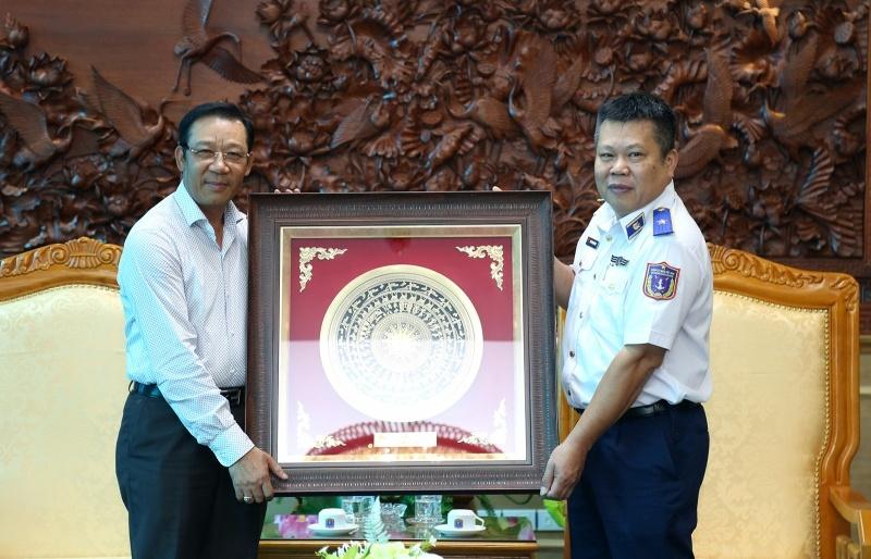PV GAS sơ kết thực hiện Thỏa thuận phối hợp với Cảnh sát biển Việt Nam