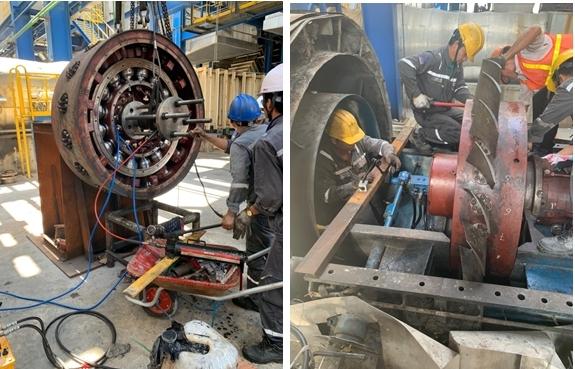 pv power services tang cuong nguon luc dam bao khoi dong lai to may 2 nmnd vung ang 1