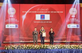 Petrovietnam 3 năm liên tiếp là doanh nghiệp có lợi nhuận tốt nhất Việt Nam