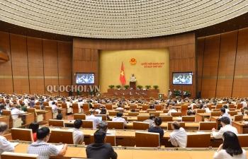 Hôm nay (14/11), Quốc hội biểu quyết về Nghị quyết phân bổ ngân sách trung ương năm 2019