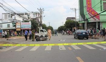 Tai nạn liên hoàn giữa 2 ô tô và 2 xe máy, một người tử vong