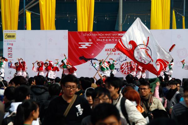 Nhộn nhịp lễ hội văn hóa Nhật tại Hà Nội