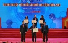 4 doanh nghiep dau khi duoc vinh danh doanh nghiep tieu bieu vi nguoi lao dong nam 2018