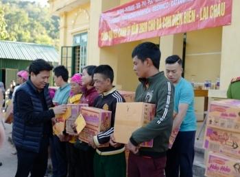 Các đơn vị Dầu khí chung tay trao quà Tết Canh Tý 2020 cho bà con Tây Bắc