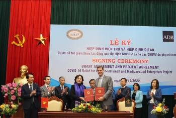ADB hỗ trợ 5 triệu USD cho các doanh nghiệp Việt Nam do phụ nữ làm chủ