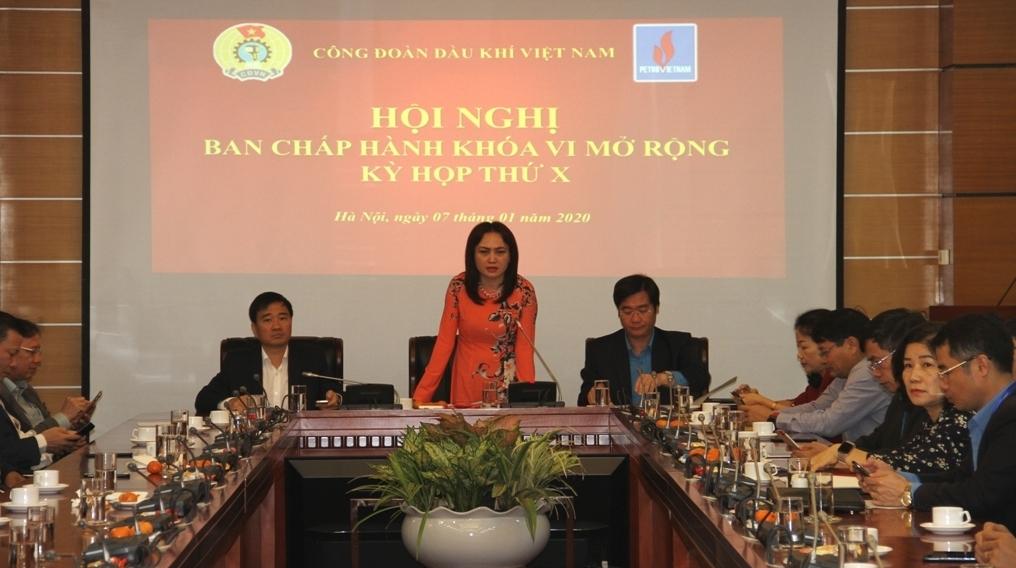 cd dkvn to chuc hoi nghi ban chap hanh mo rong ky hop thu x