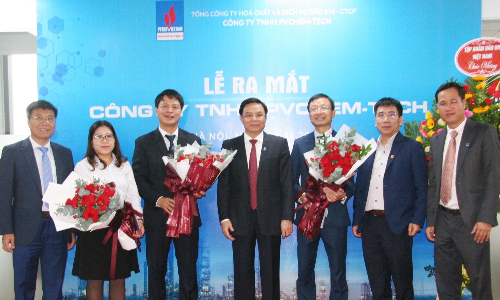 PVChem ra mắt Công ty TNHH PVChem-Tech