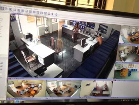 PC Sơn La lắp đặt hệ thống camera, ghi âm tại các phòng giao dịch khách hàng