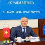 Các bộ trưởng Kinh tế ASEAN thông qua 10 ưu tiên hợp tác kinh tế phục hồi hậu Covid-19
