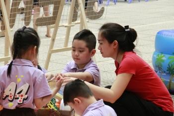 Cần để trẻ mầm non học cách sáng tạo hơn