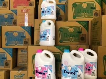 Hà Nội: Triệt phá cơ sở tuồn vào thị trường hàng ngàn lít nước giặt giả mỗi ngày