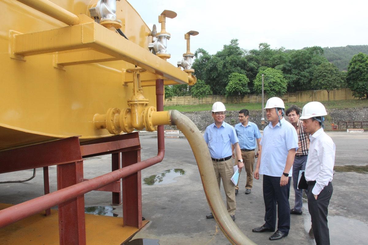 TKV có thêm 02 sản phẩm cơ khí bảo vệ môi trường mỏ