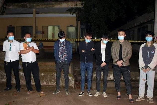 Bắt giữ 9 người Trung Quốc nhập cảnh trái phép tại Hớn Quản