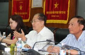 Hội Dầu khí Việt Nam và Công đoàn Dầu khí Việt Nam làm việc tại PV Power