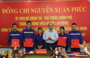 """Thủ tướng Nguyễn Xuân Phúc: Tiếp tục phát huy truyền thống """"Kỷ luật - Đồng tâm"""" của thợ mỏ"""
