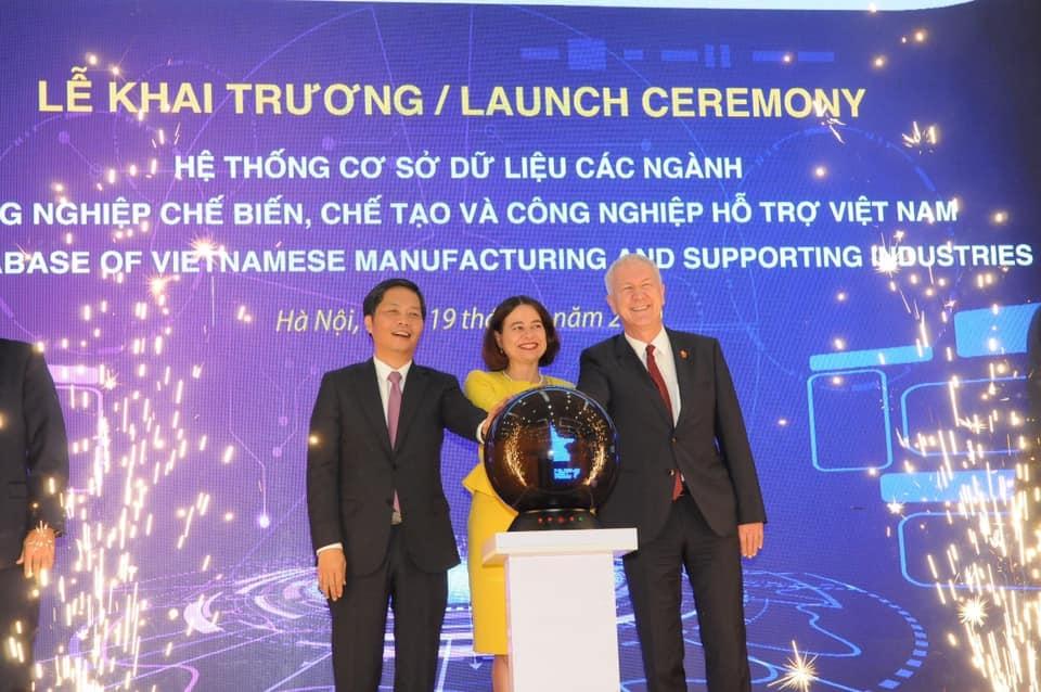 bo cong thuong khai truong he thong co so du lieu hon 3500 doanh nghiep nganh cong nghiep viet nam