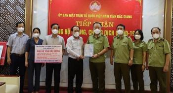 Tổng cục Quản lý thị trường chi viện cho Bắc Giang