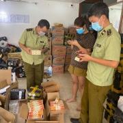 Chặn bắt hơn 1.600 mỹ phẩm giả thương hiệu Ngọc Châu